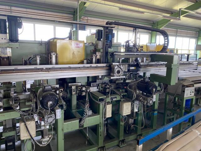 Ingenierbüro Maschinenbau GmbH  BJM  CNC-Fensterfertigungsanlage RF-9L / H - 4