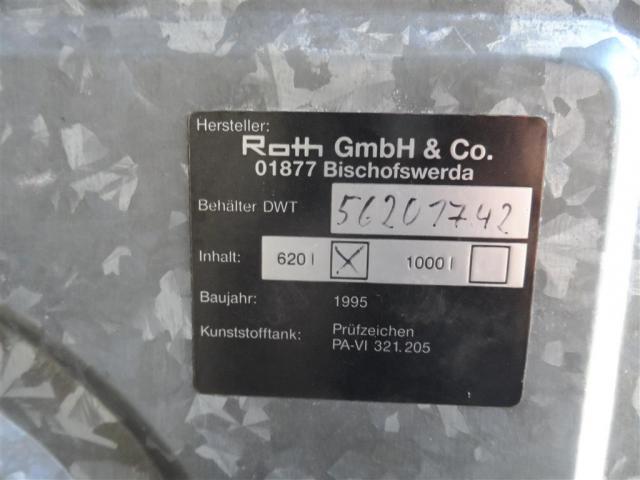 Roth Tanks DWT - 620 - 3