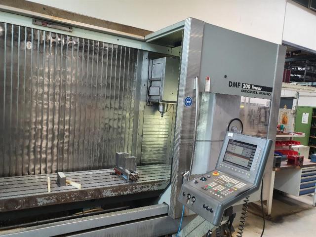 DECKEL MAHO Bearbeitungszentrum - Vertikal DMF 300 linear - 4