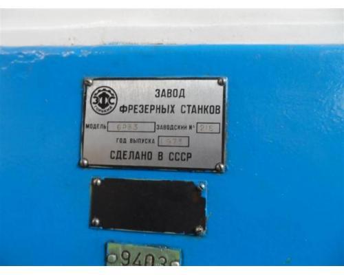 Stankoimport Fräsmaschine - Universal 6P83 - Bild 4