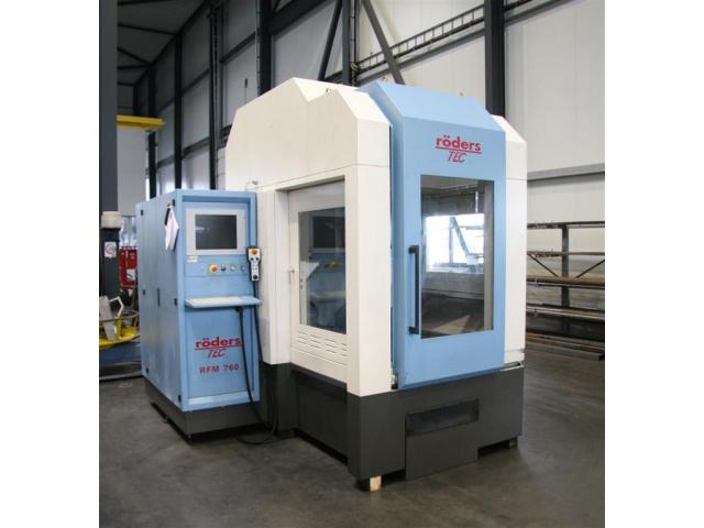 Röders Fräsmaschine - Universal RFM 760/S - 1