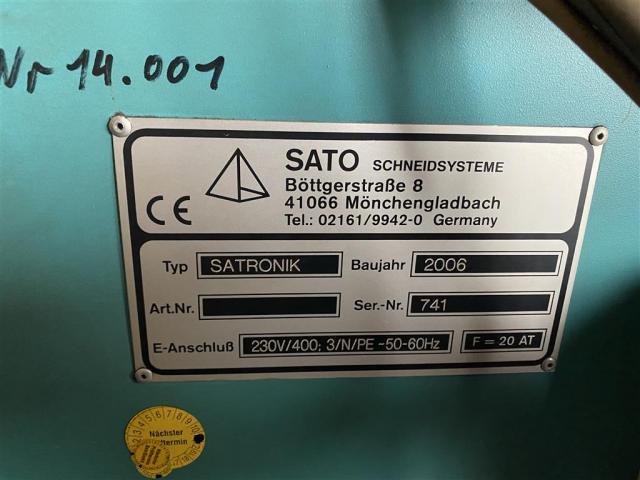 SATO CNC Plasma-Schneidanlage Satronik - 5