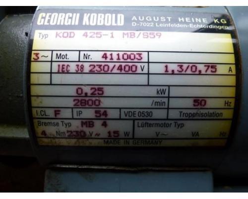 Motor Flanschmotor 85-71x025x1500 3~ 380V 0,25 KW 1380 U - Bild 11