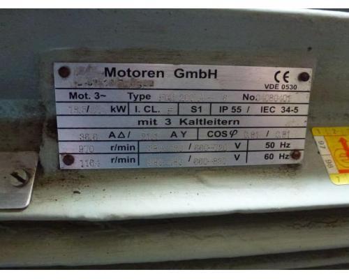 Motor Flanschmotor 85-71x025x1500 3~ 380V 0,25 KW 1380 U - Bild 15