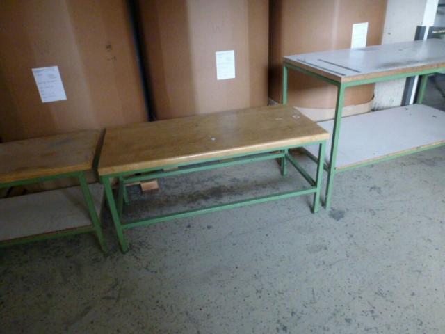 Montagetisch Arbeitstisch Werkbank 150x70x80 cm mit.40mm Platte - 3