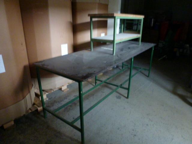 Montagetisch Arbeitstisch Werkbank 150x70x80 cm mit.40mm Platte - 4