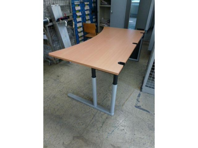 Montagetisch Arbeitstisch Werkbank 150x70x80 cm mit.40mm Platte - 8