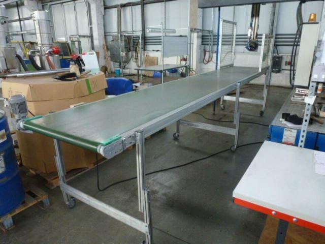 Montagetisch Arbeitstisch Werkbank 150x70x80 cm mit.40mm Platte - 9