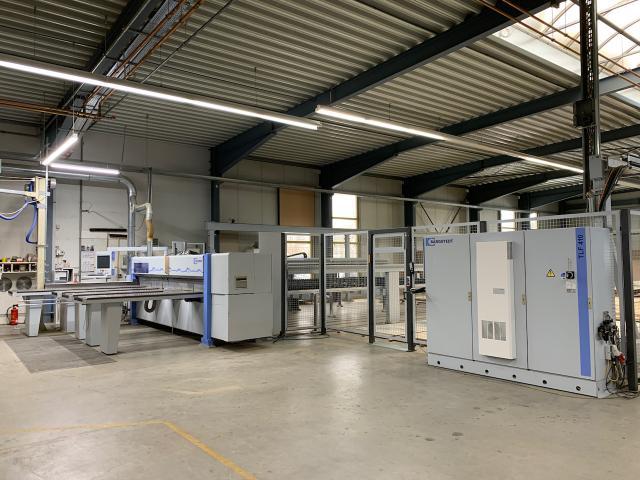 Plattenaufteilsäge HOLZMA PROFILINE HPP 380/ 43 /43/L/X - 2