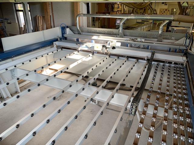 Plattenaufteil, – und Optimierungssäge PANHANS Typ S45 All IN ON - 8
