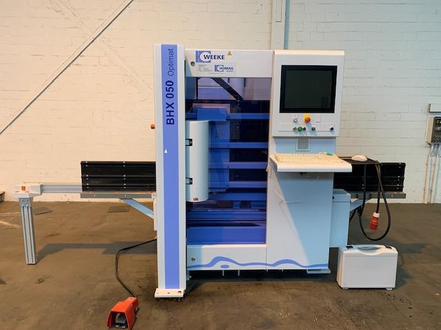 CNC Bearbeitungszentrum WEEKE OPTIMAT BHX 050 - 1