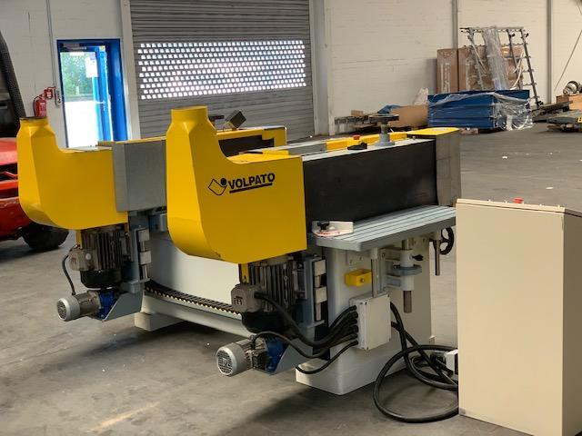 Doppelseitige Schleif- Kalibriermaschine Volpato RCG 1200 - 2