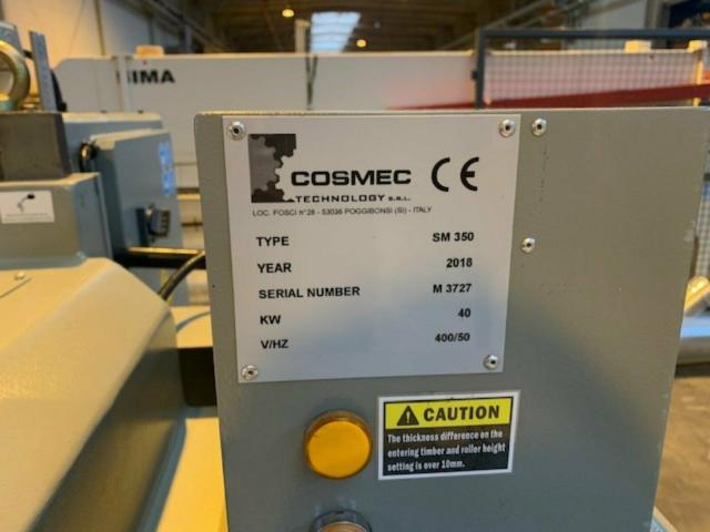 Vielblattsäge COSMEC Typ SM 350 - 10
