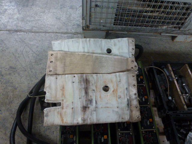 4 x Isoliermanschette Heizband Zylinderheizung 48x22x2cm - 1