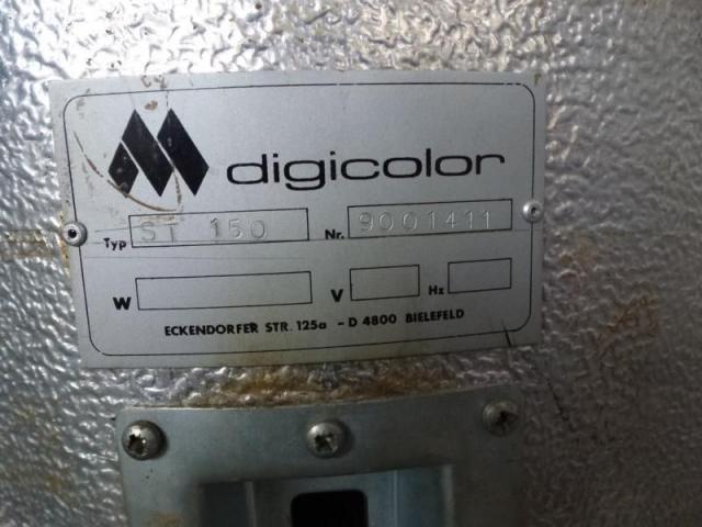 Trocknungstrichter Digicolor ST150 auf Gestell m.4 Räder - 4
