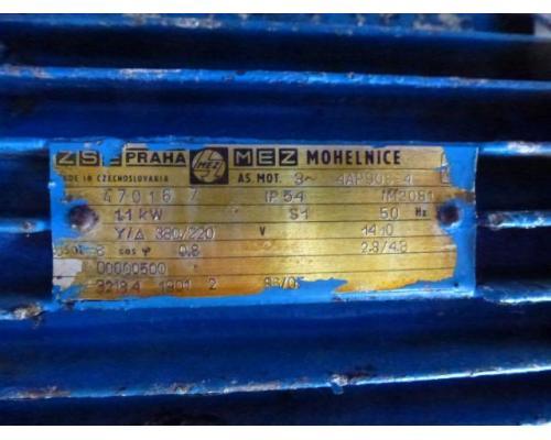Flanschmotor ZSE Praha 3~ 4AP90S-4 380/220V 1,1KW 1141U - Bild 4