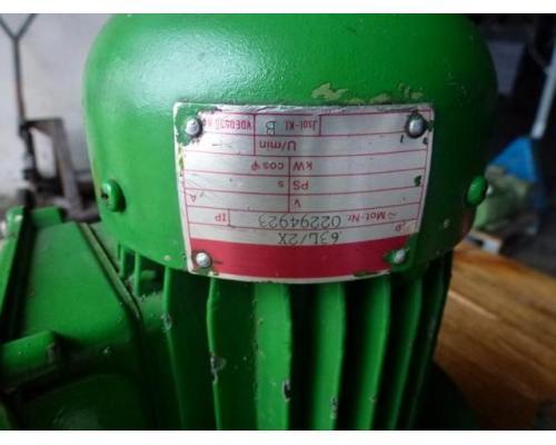 Flanschmotor ZSE Praha 3~ 4AP90S-4 380/220V 1,1KW 1141U - Bild 9
