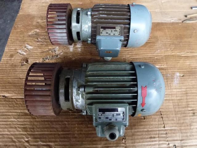 Flanschmotor ZSE Praha 3~ 4AP90S-4 380/220V 1,1KW 1141U - 10