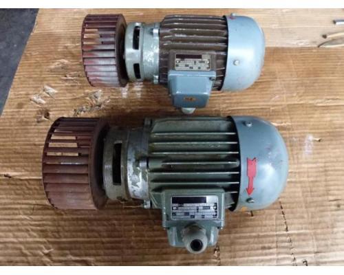 Flanschmotor ZSE Praha 3~ 4AP90S-4 380/220V 1,1KW 1141U - Bild 10