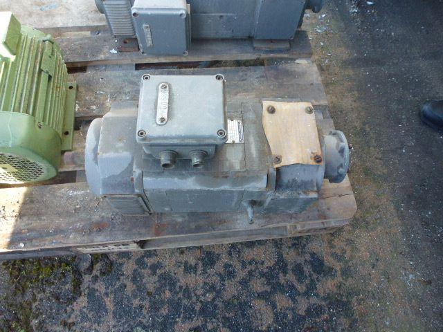 Gleichstrommotor Werkstätten Hof 7,75kW 440V- 3100U Lüfter fehlt - 1