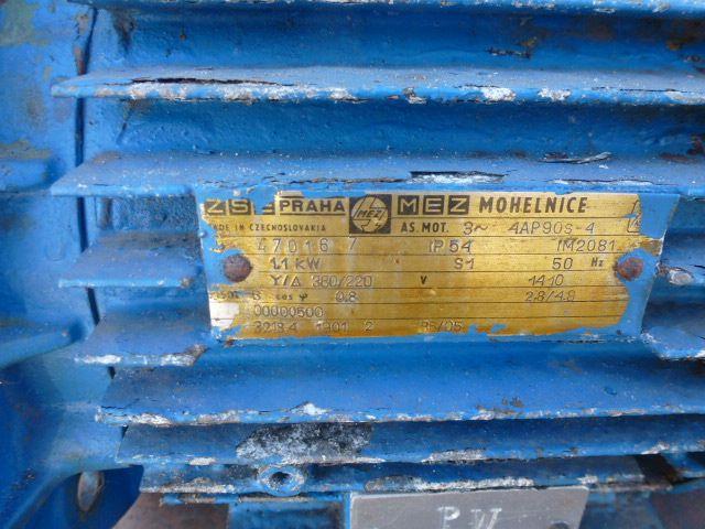 Gleichstrommotor Werkstätten Hof 7,75kW 440V- 3100U Lüfter fehlt - 5