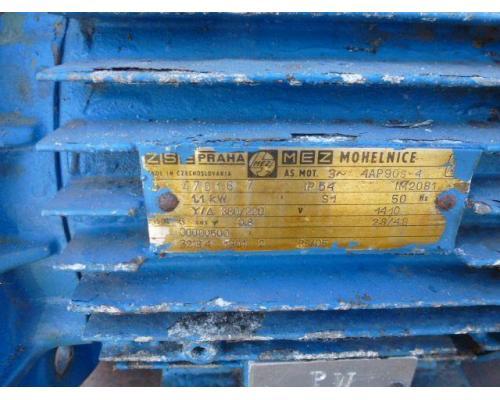 Gleichstrommotor Werkstätten Hof 7,75kW 440V- 3100U Lüfter fehlt - Bild 5