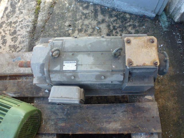 Gleichstrommotor Werkstätten Hof 7,75kW 440V- 3100U Lüfter fehlt - 6