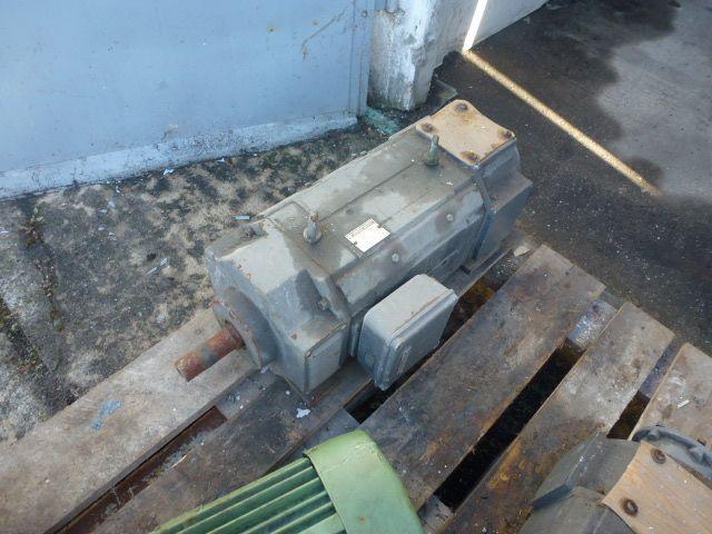 Gleichstrommotor Werkstätten Hof 7,75kW 440V- 3100U Lüfter fehlt - 8