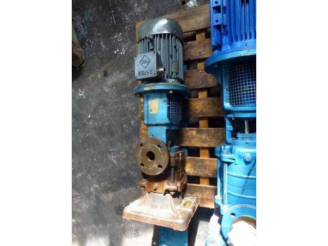 Gleichstrommotor Werkstätten Hof 7,75kW 440V- 3100U Lüfter fehlt - 12
