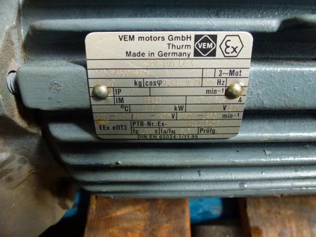 Gleichstrommotor Werkstätten Hof 7,75kW 440V- 3100U Lüfter fehlt - 13