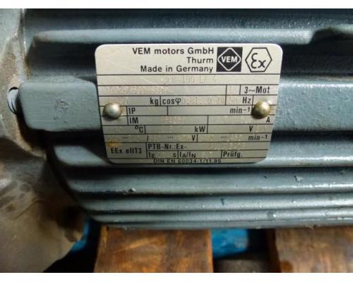 Gleichstrommotor Werkstätten Hof 7,75kW 440V- 3100U Lüfter fehlt - Bild 13