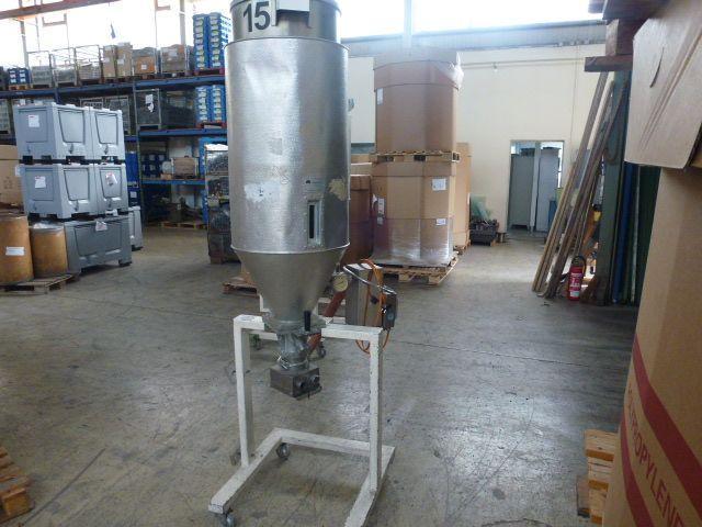 3 x Trocknungstrichter Digicolor ST150 auf einem Gestell m.5 Räder - 9
