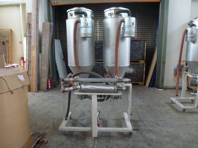 3 x Trocknungstrichter Digicolor ST150 auf einem Gestell m.5 Räder - 11