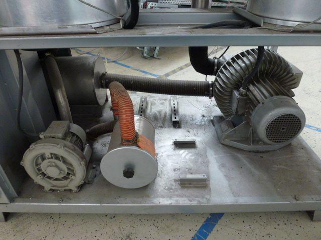 3 x Trocknungstrichter Digicolor ST150 auf einem Gestell m.5 Räder - 14