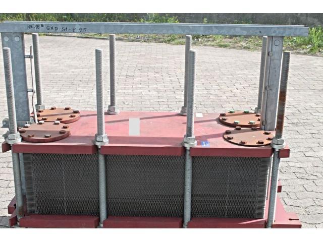 SWEP GX-051P Wärmetauscher / Heat Exchanger 105 Platten / plates - 2