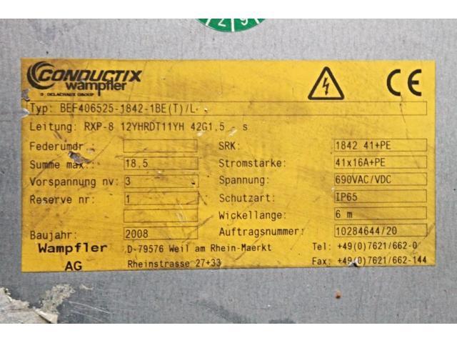 CONDUCTIX - Federleitungstrommel BEF406525-1824-1BE(T)/L - 2