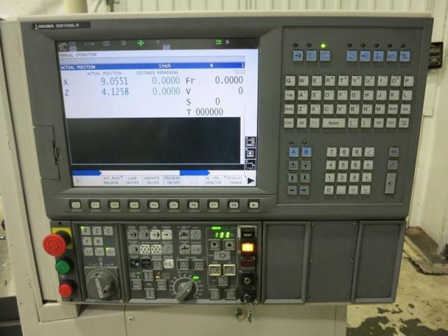 OKUMA GENOS L250E 2 axle - 2