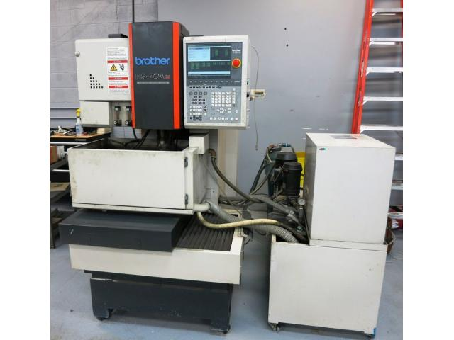 BROTHER HS-70Am CNC 5-Achse Drahterodiermaschine - 1