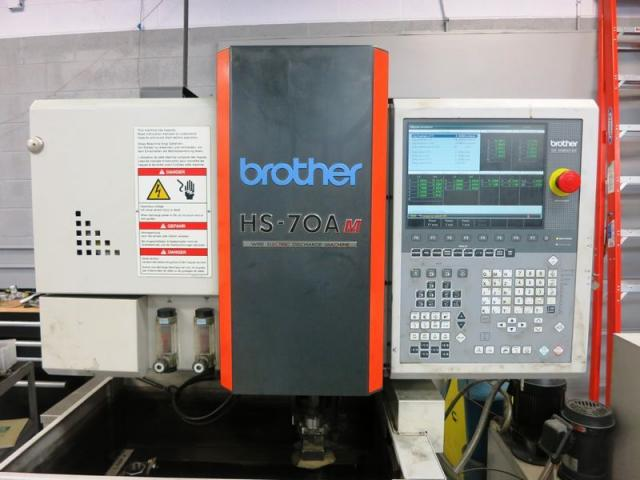 BROTHER HS-70Am CNC 5-Achse Drahterodiermaschine - 2