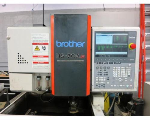 BROTHER HS-70Am CNC 5-Achse Drahterodiermaschine - Bild 2