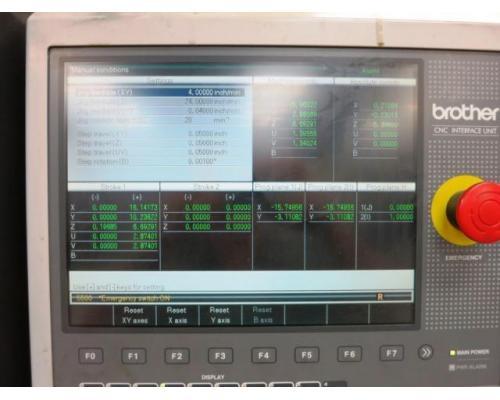 BROTHER HS-70Am CNC 5-Achse Drahterodiermaschine - Bild 3