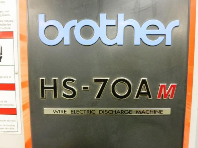 BROTHER HS-70Am CNC 5-Achse Drahterodiermaschine - 5