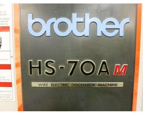 BROTHER HS-70Am CNC 5-Achse Drahterodiermaschine - Bild 5