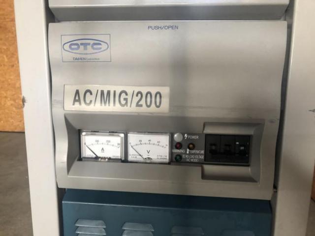 OTC Daihen Europe GmbH Schweißgerät/ -maschine AC MIG 200 - CPDACR-200 - 6