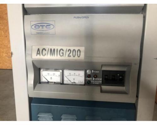 OTC Daihen Europe GmbH Schweißgerät/ -maschine AC MIG 200 - CPDACR-200 - Bild 6