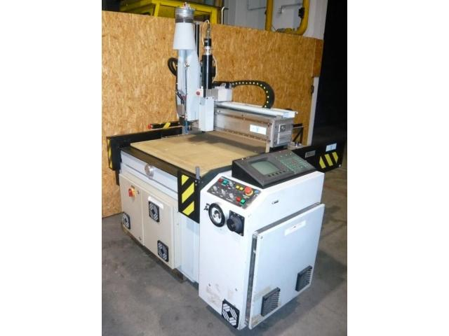 Bulleri CNC- Fräsmaschine Beta 6 - 2