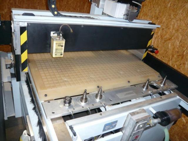 Bulleri CNC- Fräsmaschine Beta 6 - 4