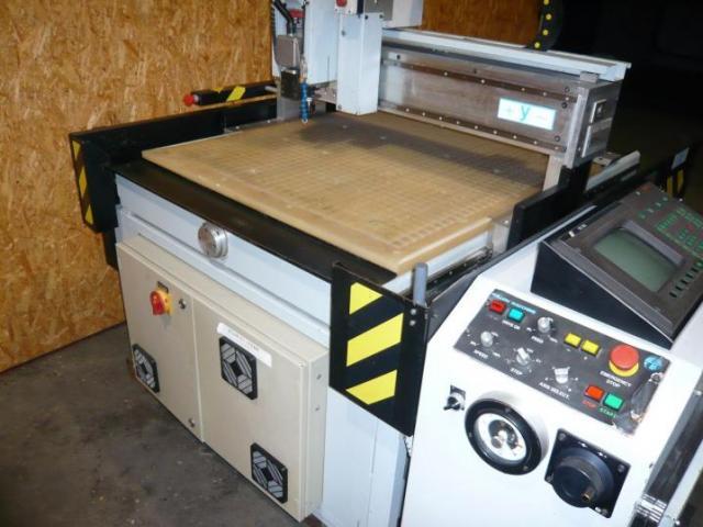 Bulleri CNC- Fräsmaschine Beta 6 - 6