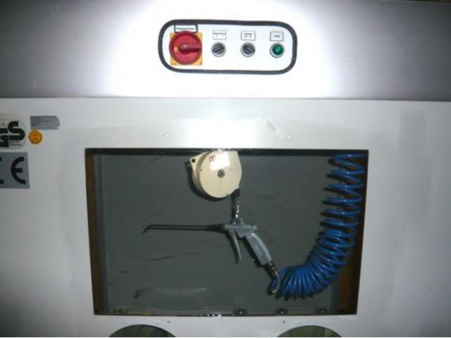 Baunataler Werkstätten Trockenreinigungskabine AT - 4