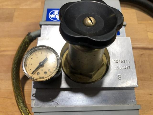 FORKHARDT Pneumatiksteuergerät DSE - 4